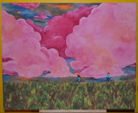 Painting by Natasha Johanna Lepine