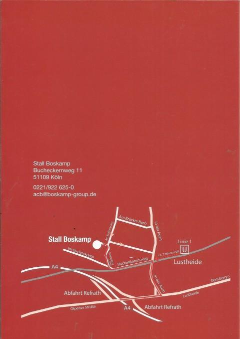 IRISWegbeschreibung Kunstausstellung Stall Boskamp 001