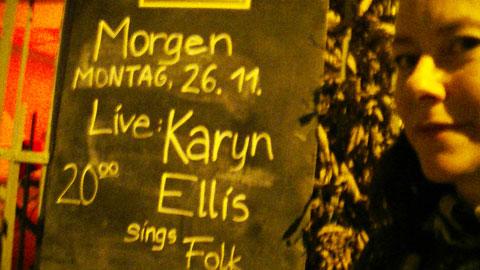 Image titled: Karyn Ellis Sings Folk! Tour of Europe Nov / Dec 2012