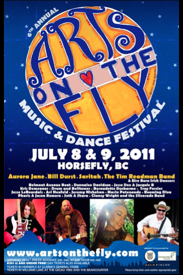 Arts on the Fly 2011 Poster